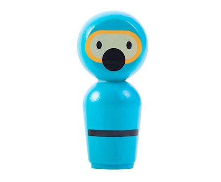 Plan Toys Łódź podwodna - zabawka do kąpieli