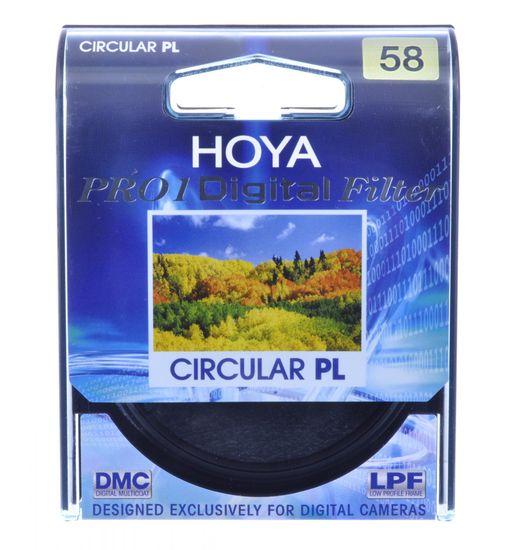 Hoya Filter cirkularni polarizacijski Cir-pol Pro1 Digital, 58 mm