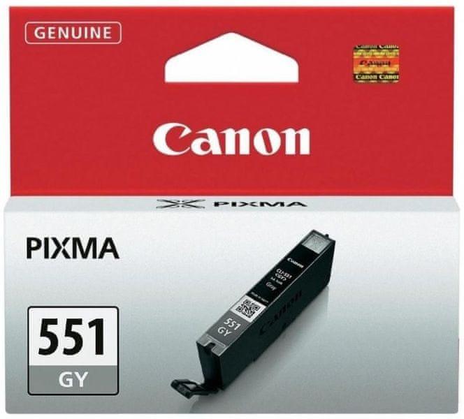 Canon CLI-551GY, šedá (6512B001)