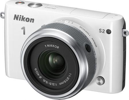 Nikon fotoaparat 1 S2 + 11-27,5 mm, bel