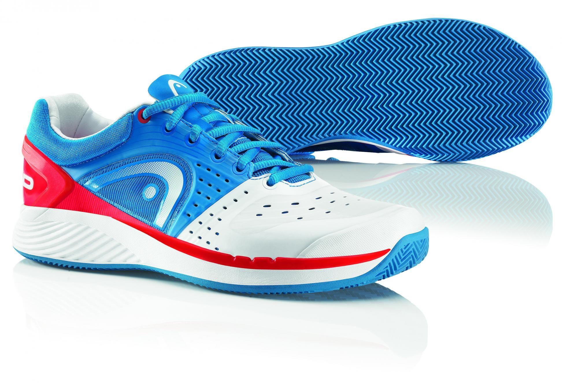 Head Sprint Pro Clay Men blue/white/red 43,0