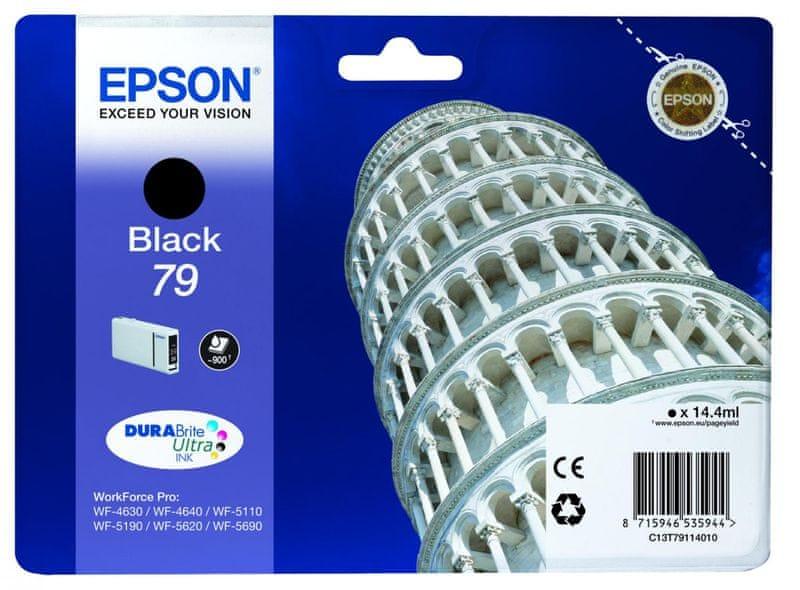 Epson Singlepack Black 79 DURABrite Ultra Ink (C13T79114010)