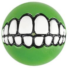ROGZ GRINZ loptička so zubami limetka 7,8 cm