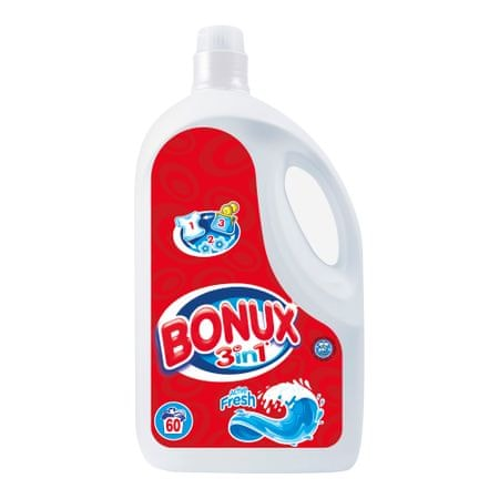Bonux pralni gel Active Fresh, 3,9 l