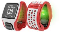 TomTom Runner Cardio GPS óra, Fehér/Piros