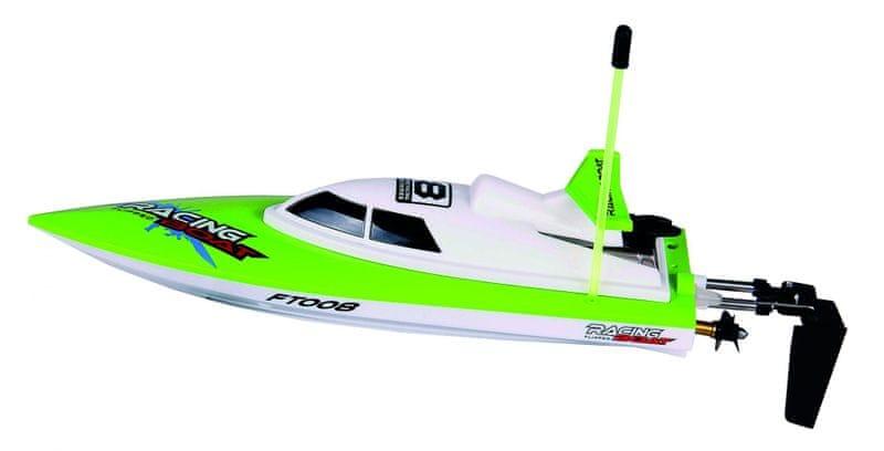 Buddy Toys RC loď zelená BRB 2800