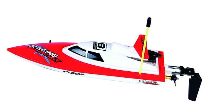 Buddy Toys RC loď červená BRB 2801
