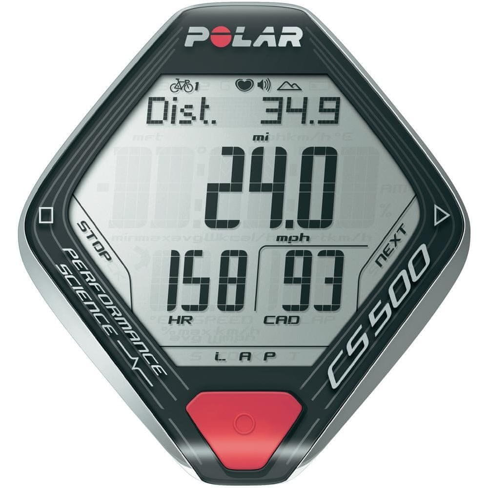Polar CS500+ Black Silver