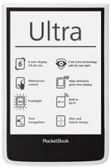 PocketBook elektronski čitač 650 ultra, bijeli