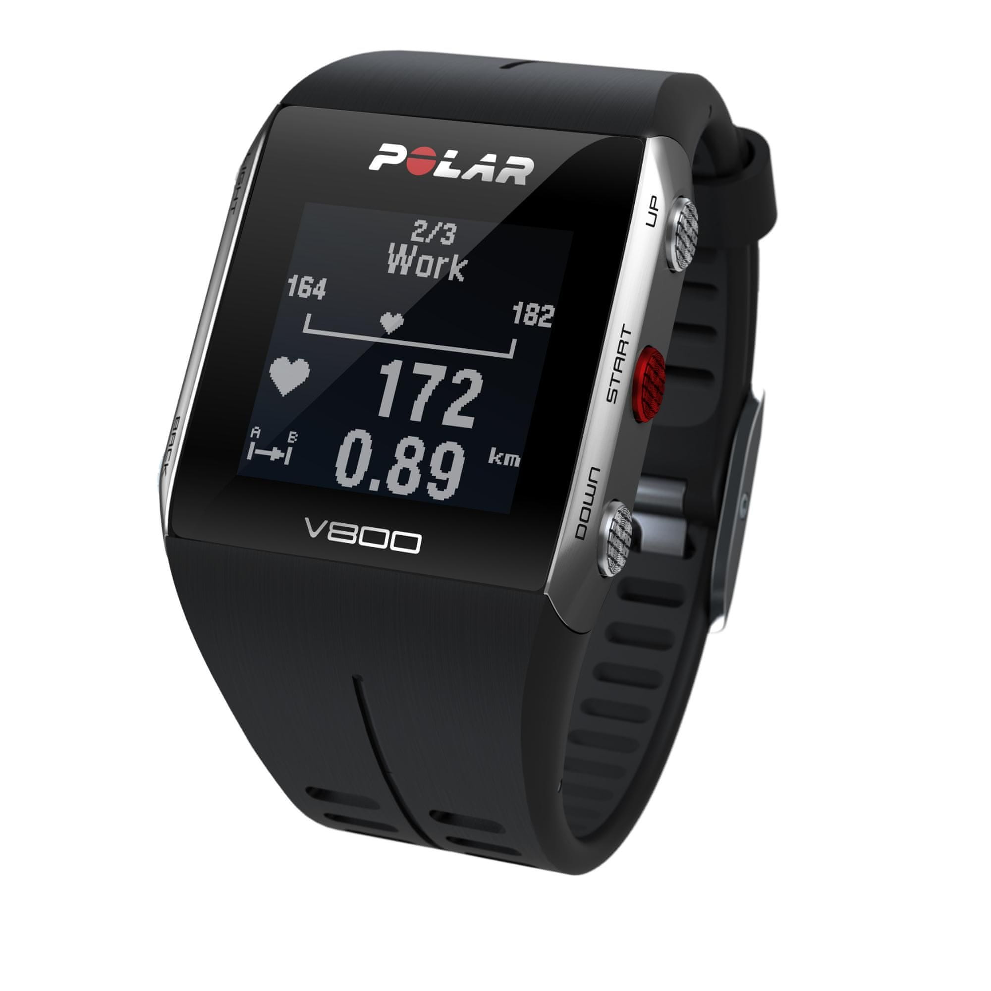 Polar V800 bez HR Black