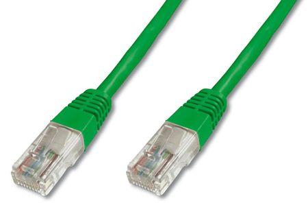 Digitus UTP mrežni kabel Cat5e patch, 1 m, zelen