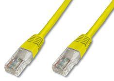 Digitus UTP mrežni kabel Cat5e patch, 5 m, rumen