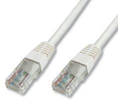 Digitus UTP mrežni kabel Cat5e patch, 5 m, bel