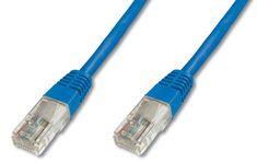 Digitus UTP mrežni kabel Cat5e patch, 10 m, moder