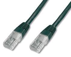 Digitus UTP mrežni kabel Cat5e patch, 10 m, črn
