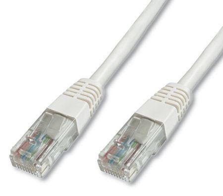 Digitus UTP mrežni kabel Cat5e patch, 10 m, bel