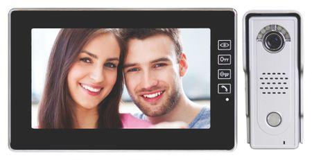Emos video domofon H1018, črn
