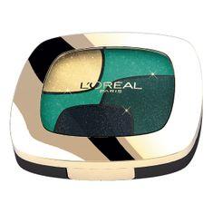 L'Oréal poczwórne cienie Color Riche Quad - P3 Emerald Conquest - 2,5 g