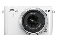 Nikon digitalni fotoaparat 1 S2 + 11-27.5mm + 30-110, bel