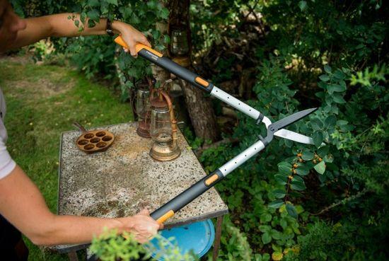 Fiskars nożyce teleskopowe do żywopłotu SmartFit (114800)