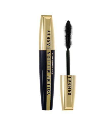 L'Oréal Volume Million Lashes Extra - Black maskara, črna