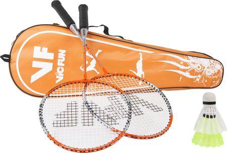 Vicfun zestaw do gry w badmintona Badminton Hobby Set Typ B XT 1.6