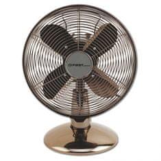 First Austria namizni ventilator, 30 cm, 3 hitrosti, oscilacija, 45 W, kovinska barva