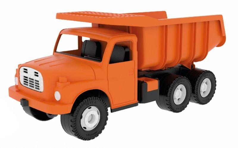 Dino Auto 148, 73cm oranžová - II. jakost