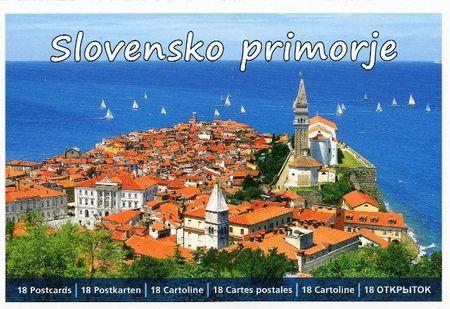 Slovensko primorje, razglednice