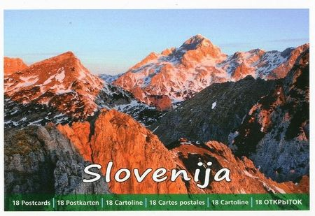 Slovenija, razglednice