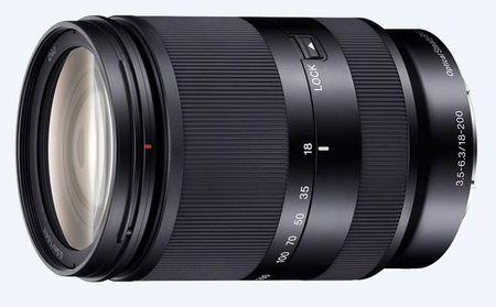 Sony objektiv E serije SEL-18200LE