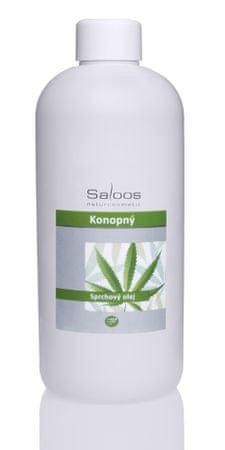 Saloos olje za prhanje Konoplja, 500 ml