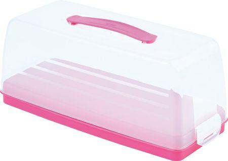 Curver Škatla za shranjevanje sladic - chef Roza