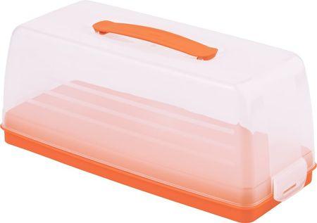 Curver Škatla za shranjevanje sladic - chef Oranžna