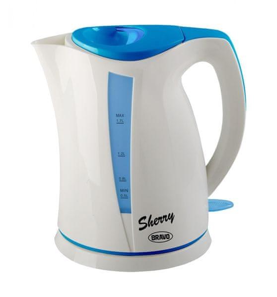BRAVO B-4321 Sherry bílo modrá