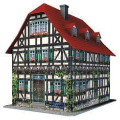 Ravensburger sestavljanka 3D, srednjeveška hiša