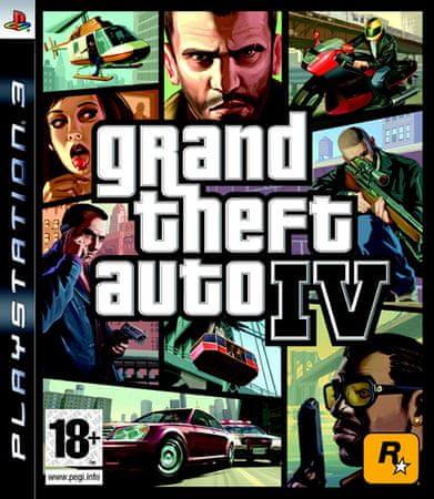 Take 2 Grand Theft Auto IV Platinum PS3