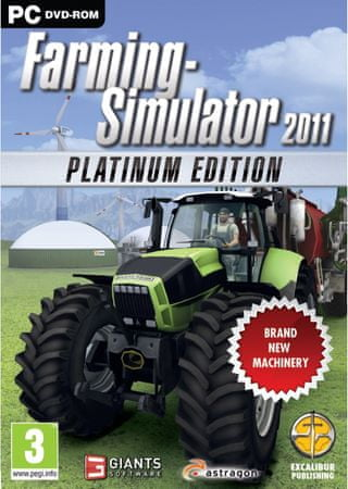 Focus Farming Simulator 2011 Platinum