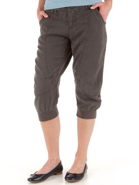 Timeout dámské 3/4 kalhoty 36 tmavě šedá