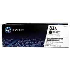 HP toner 83A, črn (CF283A)
