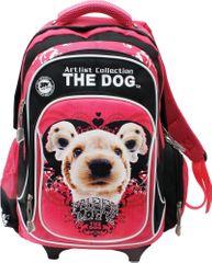 The dog šolska torba