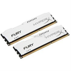 Kingston pomnilnik HyperX FURY White 16 GB DDR3 (HX318C10FWK2/16)