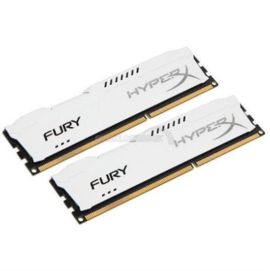 Kingston HyperX Fury RAM pomnilnik, 16GB, DDR3, bel (HX318C10FWK2/16)