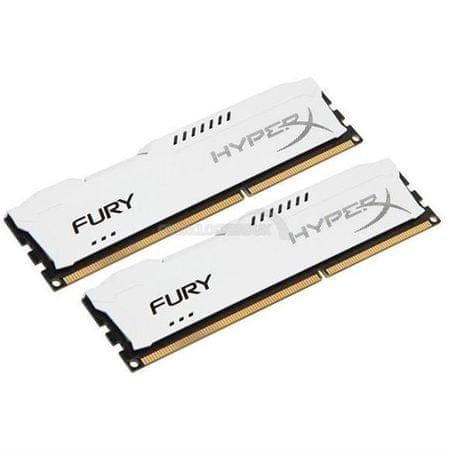 Kingston pomnilnik (RAM) Hyperx Fury 8GB DDR3 1866 CL10, bel