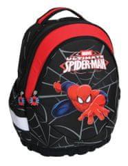 Spiderman ergonomski nahrbtnik Marvel Spider man, črno-rdeč