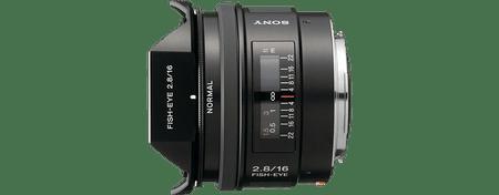 Sony objektiv A serije SAL-16mm F2,8