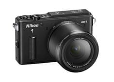 Nikon digitalni fotoaparat AW1 11-27, 5mm, črn