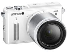Nikon digitalni fotoaparat AW1 11-27, 5 mm, bel