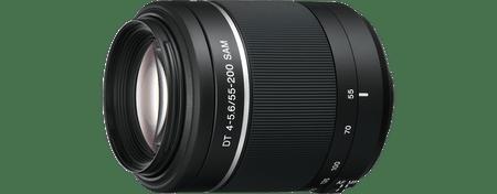 Sony objektiv A serije SAL-55–200 mm F4–5,6 S