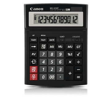 Canon kalkulator WS-1210T